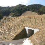 東九州自動車道門川地区盛土のり面植栽工事3